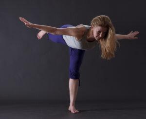 Yoga-Stellung Krieger 3