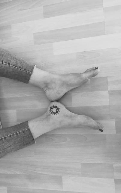 Tattoo auf der Verse