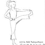Utthita Hosta Padangusthasana - Ausgestreckte Hand greift großen Zeh